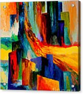 911 Revisited Acrylic Print by Larry Martin
