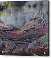 A Blaze In The Sky Acrylic Print by Ana Lusi