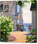 A Cape Cod Paradise Acrylic Print by Laura Lee Zanghetti