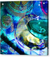 A Cognac Night 20130815m180 Acrylic Print by Wingsdomain Art and Photography