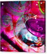 A Cognac Night 20130815m50 Acrylic Print by Wingsdomain Art and Photography