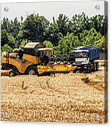 A French Harvest Acrylic Print by Georgia Fowler