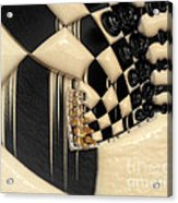 A Game Of Chess Acrylic Print by Liane Wright