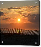 A Great Way To Start The Day Acrylic Print by Bill Cannon