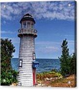A Little Lighthouse Acrylic Print by Mel Steinhauer