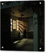 A Peaceful Corner Entrance Acrylic Print by Guy Ricketts