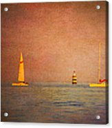 A Perfect Summer Evening Acrylic Print by Loriental Photography