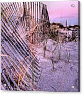 A Pink Sunrise Acrylic Print by JC Findley