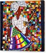 A Quilter's Dream Acrylic Print by Aisha Lumumba