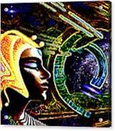 A  Stellar  Lightship Pilot Acrylic Print by Hartmut Jager