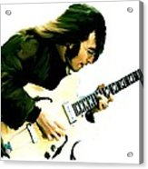 A Time It Was  John Lennon Acrylic Print by Iconic Images Art Gallery David Pucciarelli