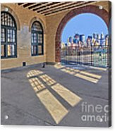 A View To Nyc Acrylic Print by Susan Candelario