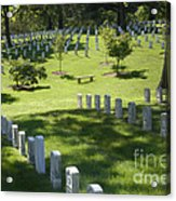 A Waiting Bench Acrylic Print by Paul W Faust -  Impressions of Light