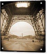 A Walk Through Paris 14 Acrylic Print by Mike McGlothlen