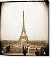 A Walk Through Paris 5 Acrylic Print by Mike McGlothlen