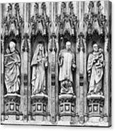 Abbey Overseers Acrylic Print by Christi Kraft