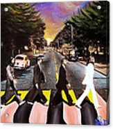 Abbey Road Acrylic Print by Steve Will