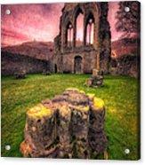 Abbey Ruin Acrylic Print by Adrian Evans