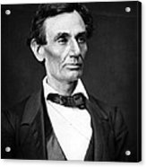 Abraham Lincoln Portrait Acrylic Print by Anonymous
