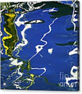 Abstract 12 Acrylic Print by Xueling Zou