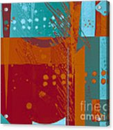 Abstract 203 Acrylic Print by Ann Powell