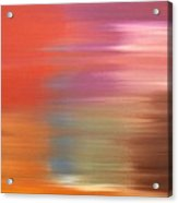 Abstract 261 Acrylic Print by Patrick J Murphy