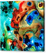Abstract 4 - Abstract Art By Sharon Cummings Acrylic Print by Sharon Cummings