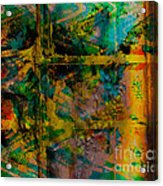 Abstract - Emotion - Facade Acrylic Print by Barbara Griffin