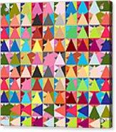 Abstract Of Colors  Acrylic Print by Mark Ashkenazi
