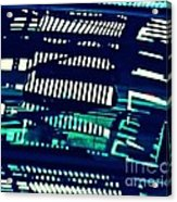 Abstract Reflection 6 Acrylic Print by Sarah Loft