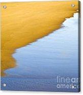 Abstract Seascape Acrylic Print by Frank Tschakert