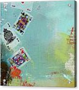Abstract Tarot Card 009 Acrylic Print by Corporate Art Task Force