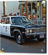 Adam 12 Acrylic Print by Tommy Anderson