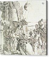 Adoration Of The Magi Acrylic Print by Giovanni Battista Tiepolo