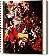Adoration Of The Shepherds  Acrylic Print by Jim Pruitt