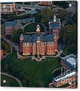 Aerial Of Woodburn Hall Acrylic Print by Dan Friend