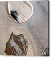 Agate Beach Acrylic Print by Sharon Jones