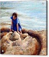 Age Of Innocence Acrylic Print by Mary Giacomini