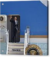 Air Force One Acrylic Print by Jim West