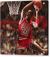 Air Jordan Acrylic Print by Mark Spears