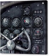 Air - The Cockpit Acrylic Print by Mike Savad