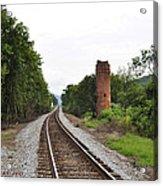 Alabama Tracks Acrylic Print by Verana Stark