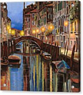 alba a Venezia  Acrylic Print by Guido Borelli