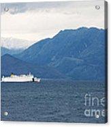 Albanian Coast Acrylic Print by Gabriela Insuratelu