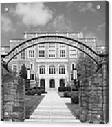 Albany Law School Gate Acrylic Print by University Icons