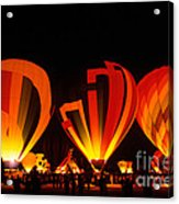 Albuquerque Balloon Festival Acrylic Print by Mark Newman