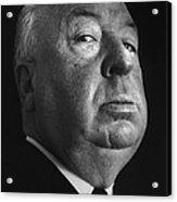 Alfred Hitchcock Acrylic Print by Studio Photo