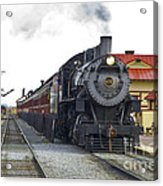 All Aboard Acrylic Print by Paul W Faust -  Impressions of Light