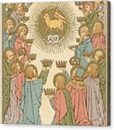 All Saints Acrylic Print by English School