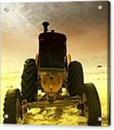 All The Feilds She Plowed Acrylic Print by Jeff Swan